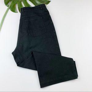 St John Sport Marie Gray Capri Cropped Pants 14